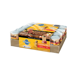 Pedigree  Meaty Loaf Variety Pack, 24x380g