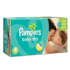Pampers Baby Dry Diaper Size 4 Economic (180 Pack)