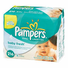 Pampers Baby Fresh Wipes ( Pack of 216)