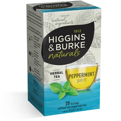 1912 HIGGINGS & BURKE Naturals Herbal Tea Peppermint Patch (20 Bags)