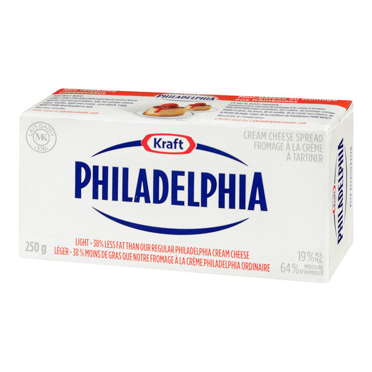 Philadelphia Cream Cheese Light 250G