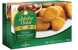Zabiha Halal Chicken Nuggets, 908G