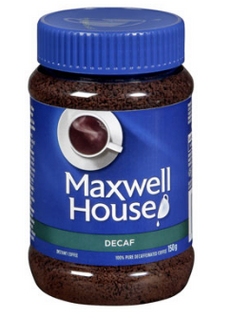 Maxwell House Instant Decaf Coffee 150g