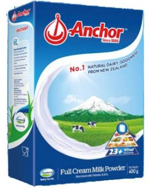 Anchor Milk Powder Instant 400gm