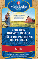 Maple Lodge Farms - Cajun Cooked Chicken Breast Roast Sliced 200g