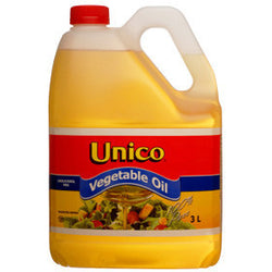 Unico Vegetable Oil 3L