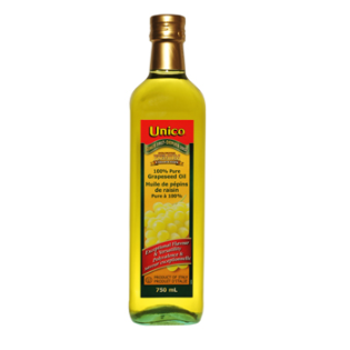 Unico 100% Pure Grapeseed Oil 750ml