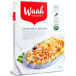 Waah Organic -Vegetable Biryani, 265g