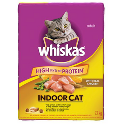Whiskas  Indoor Cats with Real chicken 7.7kg