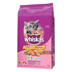 Whiskas Kitten with Real Chicken 1.5kg