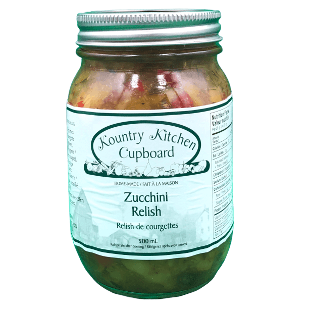 Kountry Kitchen Cupboard Zucchini Relish 500mL