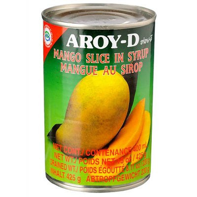Aroy-D Mango Slice in Syrup 425G