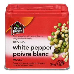 Club House Ground White Pepper 34G