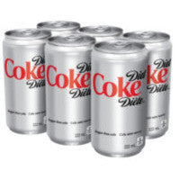 Coca-Cola Diet 6x222ML