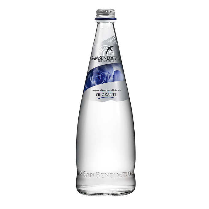 San Benedetto Sparkling Water - Glass Bottle (12x750mL)