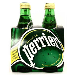 Perrier Carbonated Natural Spring Water (4x330ML)