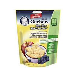 Gerber Bitty Bites Apple Blueberry Multigrain Cereal Snack, 71G
