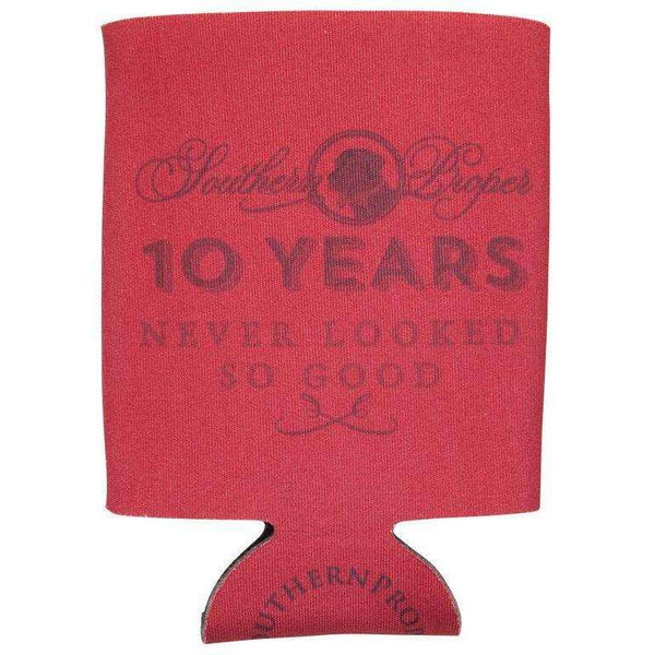 Southern Proper - 10 Years Coozie