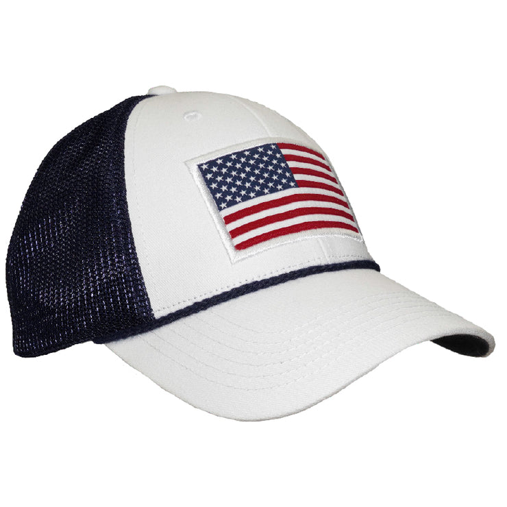 Southern Proper - American Trucker Hat: White