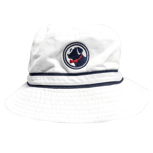 Southern Proper - Boys - Bucket Hat: White