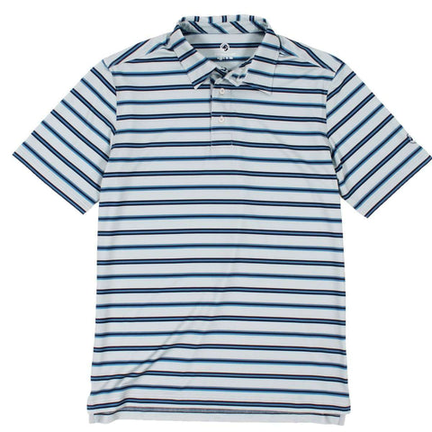 Southern Proper - Performance Polo: Dust Blue