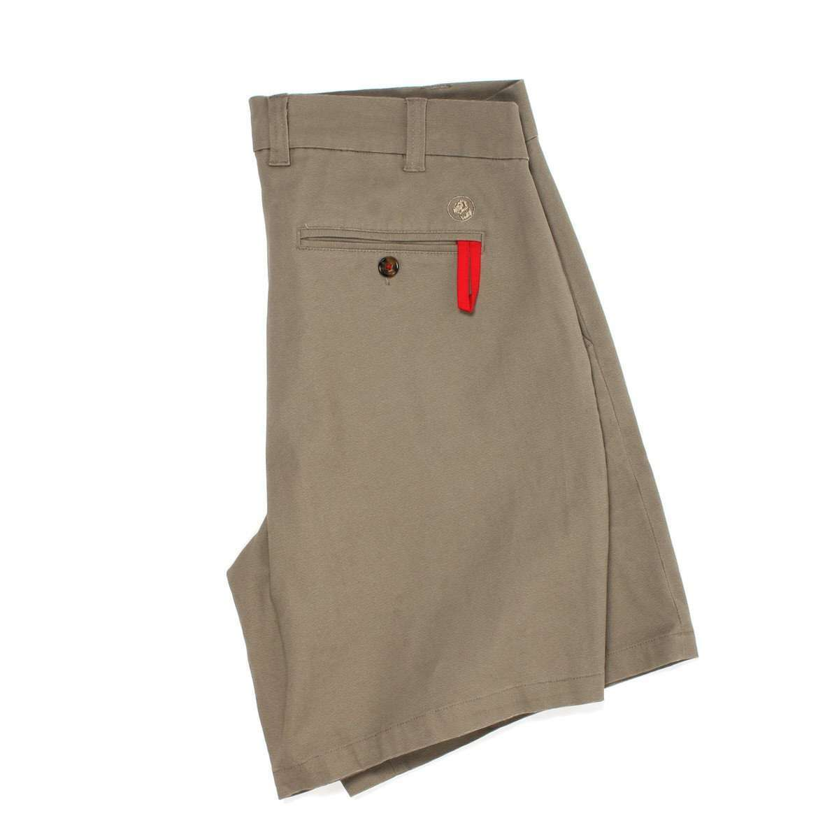 Rally Short: Khaki