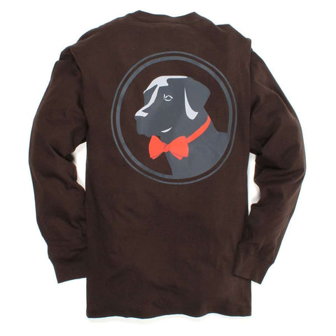 Southern Proper - Original Logo Tee: Bark Long Sleeve