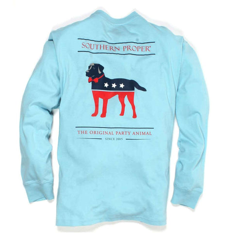 Southern Proper - Party Animal Tee: Sea Angel Long Sleeve