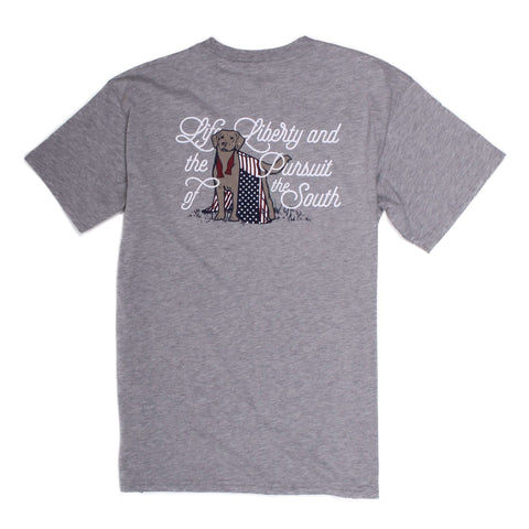 Southern Proper - Pursuit of the South: Grey Short Sleeve