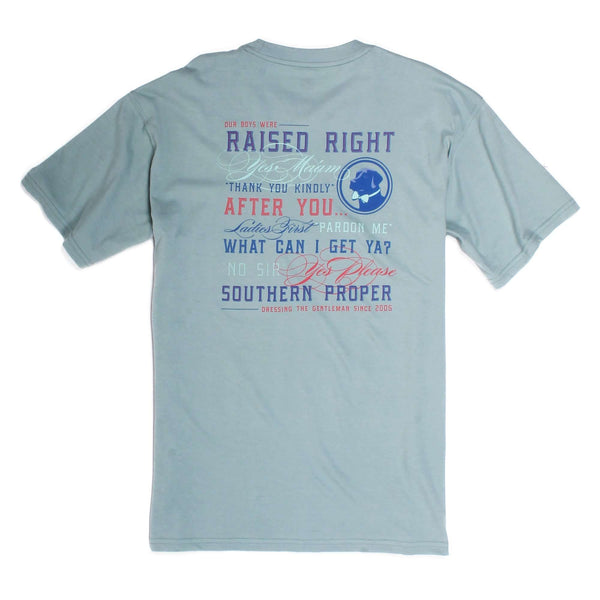 Southern Proper - Raised Right: Surf Short Sleeve