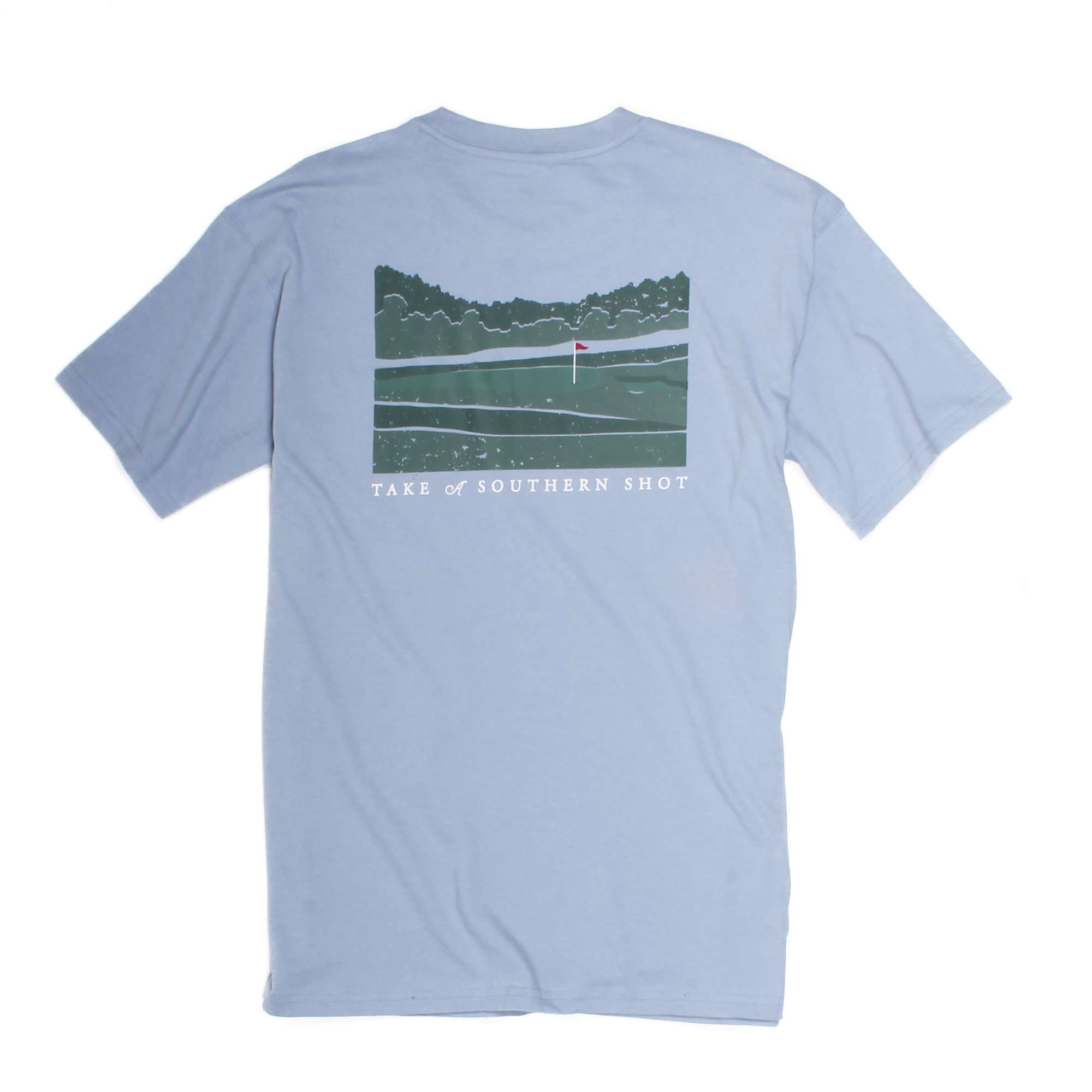 Take A Southern Shot: Dust Blue Short Sleeve