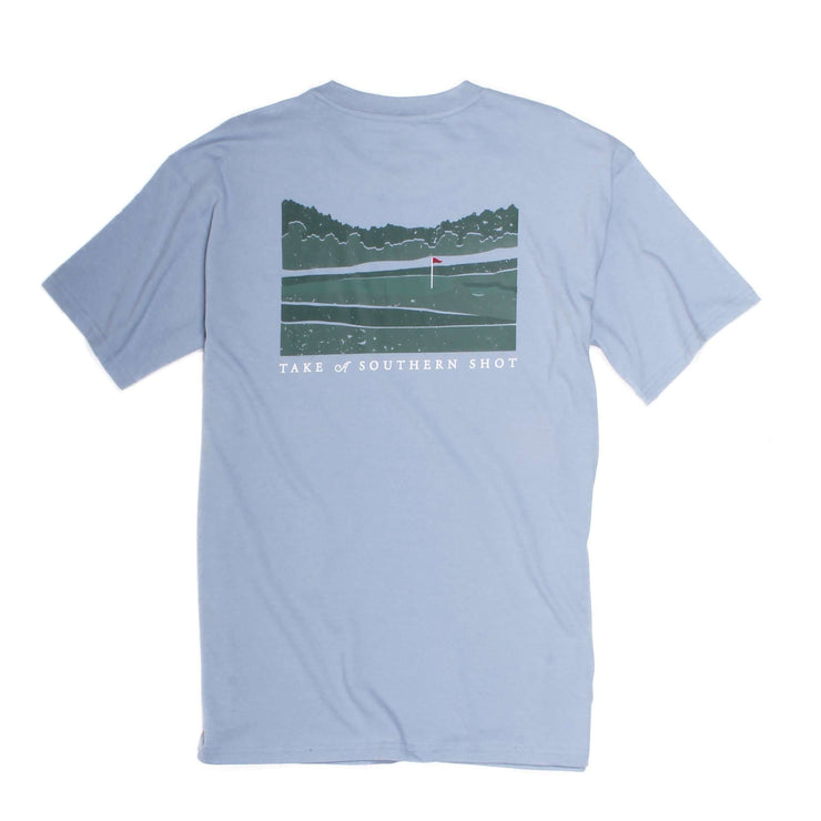 Southern Proper - Take A Southern Shot: Dust Blue Short Sleeve