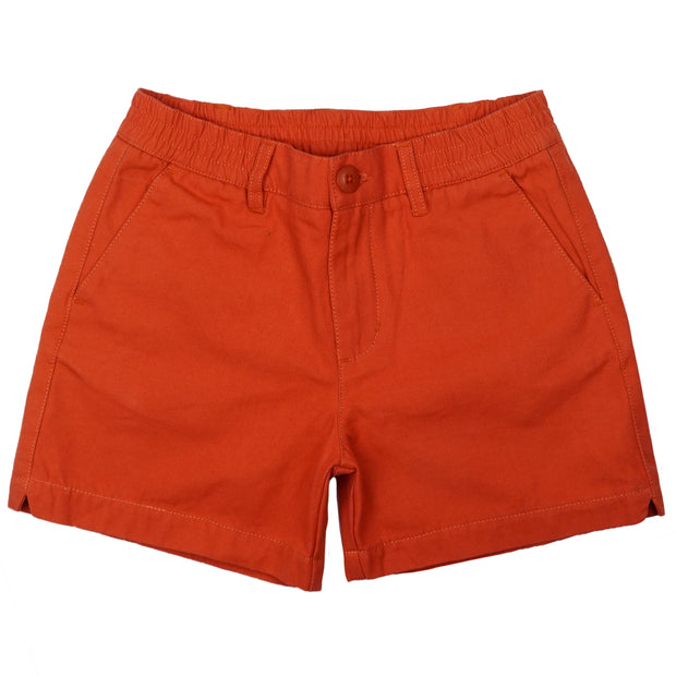 Southern Proper - Boys - PC Short: Rustic Red