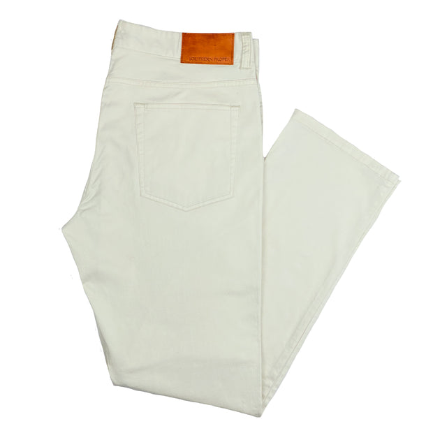 Southern Proper - Perry Five Pocket: Summer Stone