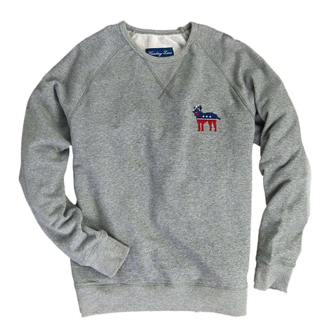 Southern Proper - Party Animal Needlepoint Pullover