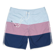 Southern Proper - Seaside Swim Short: Skyway Stripe