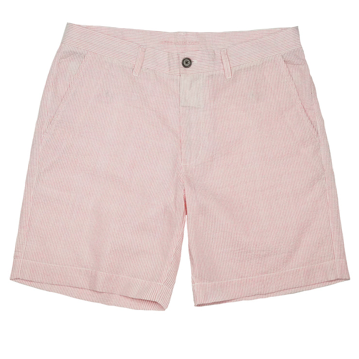 Southern Proper - Society Short: Pink Lady Seersucker