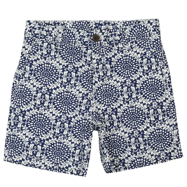 Southern Proper - Boys - Society Short: Porch Medallion