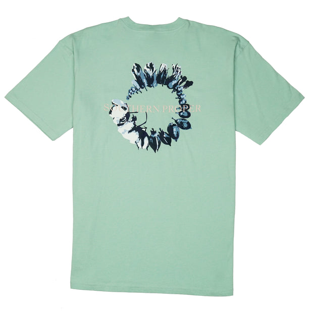 Southern Proper - Cotton Life Tee: Gossamer