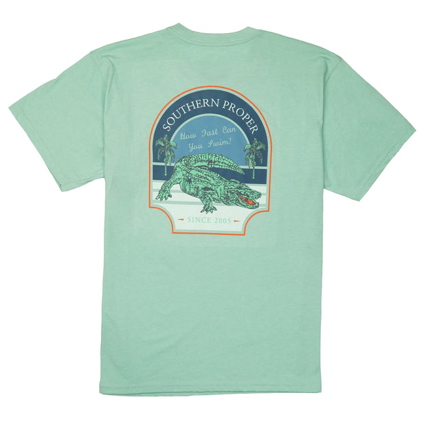 Southern Proper - How Fast Tee: Gossamer
