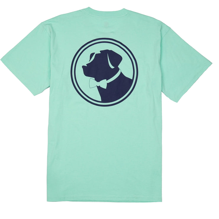 Southern Proper - Original Logo Tee: Brook Green
