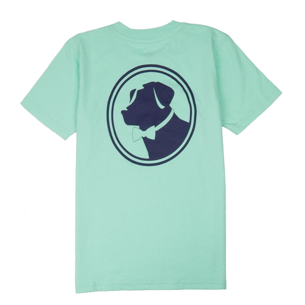 Southern Proper - Boys - Original Logo Tee: Brook Green