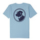 Boys - Original Logo Tee: Porch Blue