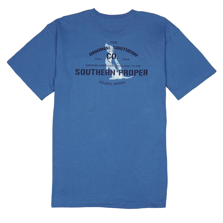 Southern Proper - Original Southern Co Tee: Riviera