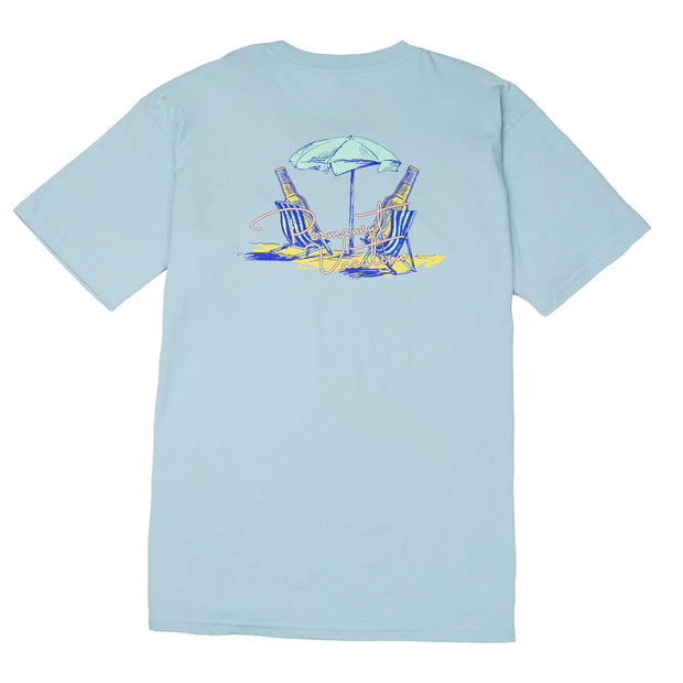 Southern Proper - Permanent Vacation Tee: Skyway