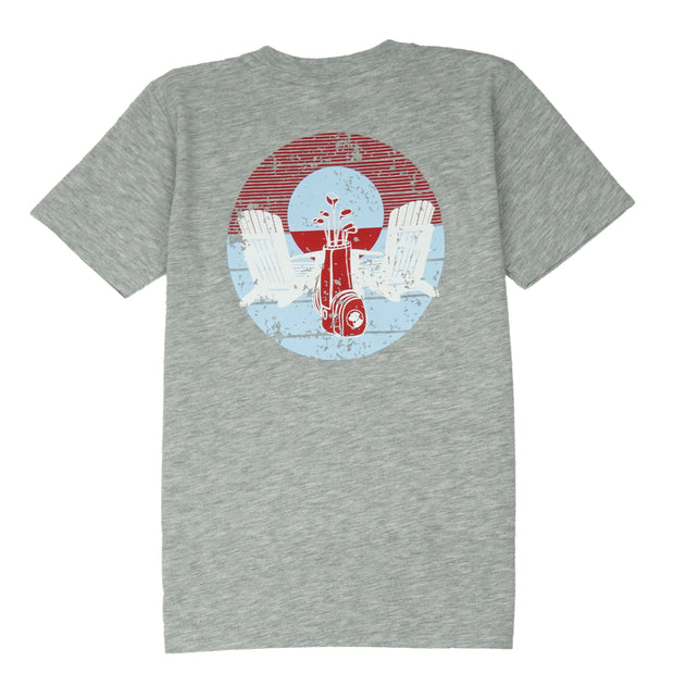 Southern Proper - Boys - Porch Swinging Tee: Heather Grey