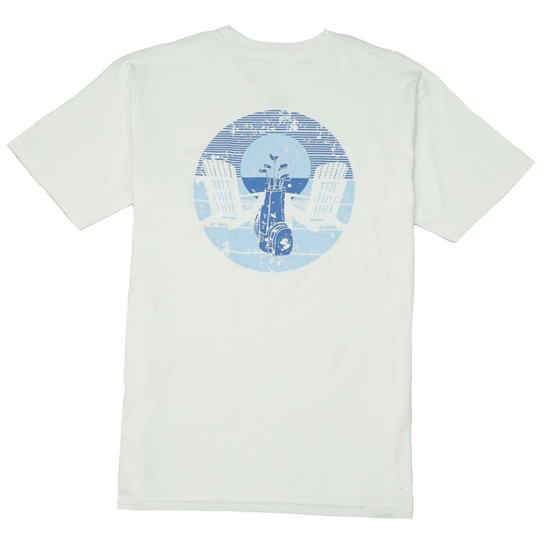 Southern Proper - Porch Swinging Tee: White