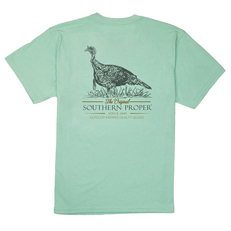 Southern Proper - Quality Goods Tee: Gossamer