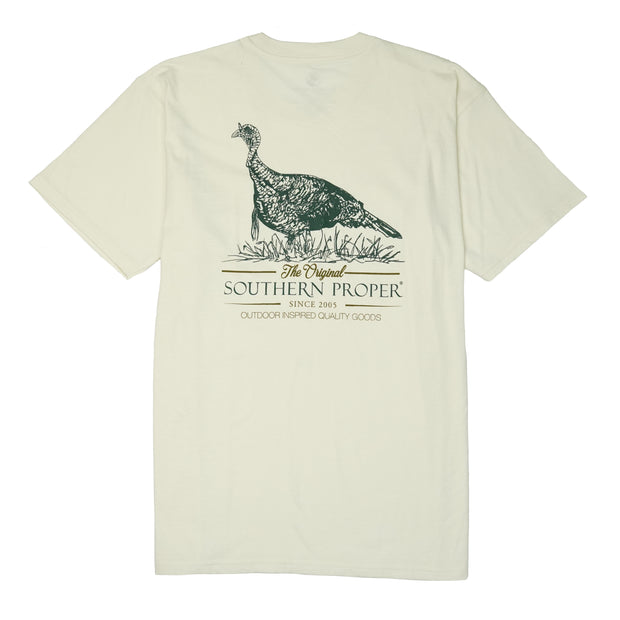 Southern Proper - Quality Goods Tee: Papyrus