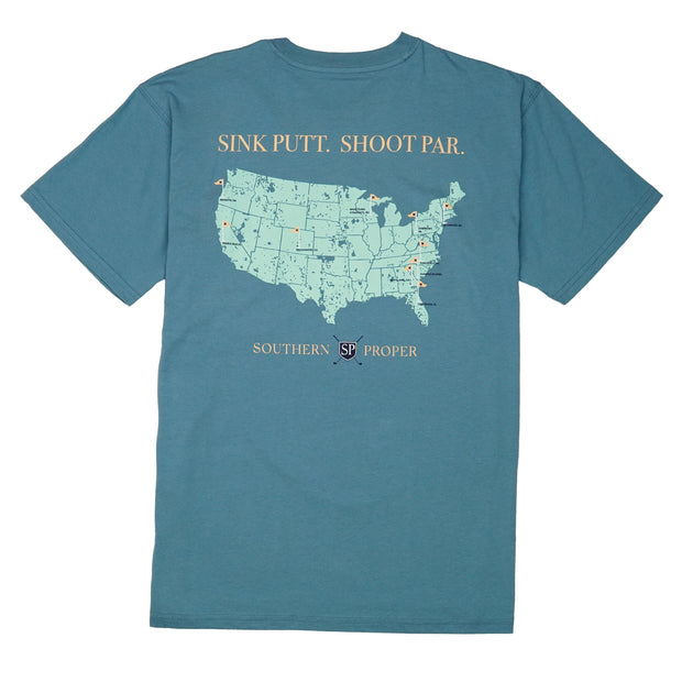 Southern Proper - Sink Putt. Shoot Par. Tee: Blue Shadow